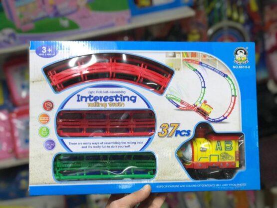 Игрушка-поезд из 37 Частей