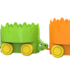 "Набор игрушек на колёсах ""Ёжики"""