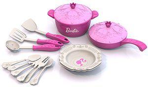 Набор кухонной посудки БАРБИ (15 предметов в пакете)
