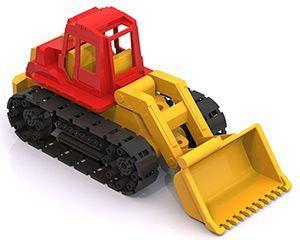 Трактор Байкал с грейдером