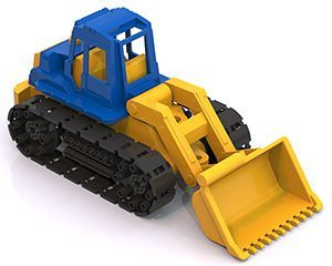 Greyderlə traktor oyuncagi goy