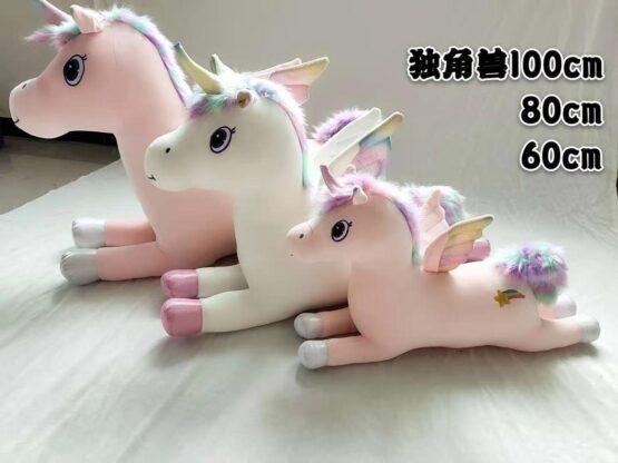 unicorn yumusaq oyuncaq